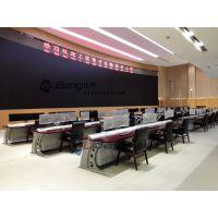 广西百色公安局中控电脑桌 移动业务用房控制台 控制电脑桌厂家