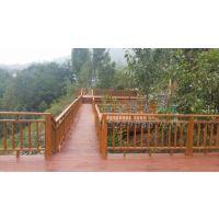 西安木廊道施工图、防腐木栈道价格设计、景观木栈道规格图片