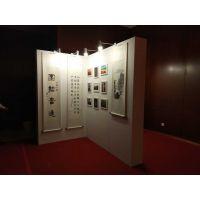 北京画展布置公司_挂画展示架出租_书法国画展板租赁