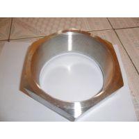 供应不锈钢316非标锻造高压DN150美制内螺纹六角螺母