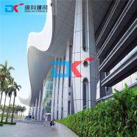 供应广西大堂外墙拼装铝单板 立体氟碳铝板效果图