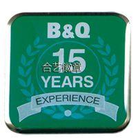 供应LOGO印刷徽章、印刷滴胶胸章、公司标志纪念胸牌、经验徽章