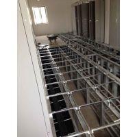 防静电地板施工 新疆抗静电地板厂家 安装活动地板