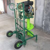 手提式地钻挖坑机 新款汽油大功率打洞机 佳鑫钻坑机价格