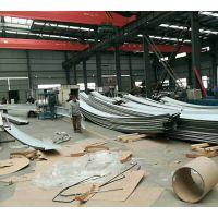 供应江苏65-430型铝镁锰弯弧板大型建筑屋面