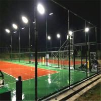室外篮球场灯光改造/篮球场LED泛光灯替换金卤灯专用灯具/室外篮球灯具