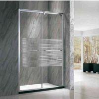 浩湟高端淋浴房整体浴室移动钢化玻璃隔断屏风一字形TF-1005