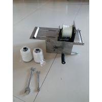 源头厂家 宏燊高效优质4.2型香肠扎线机