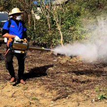 脉冲动力双管弥雾机 农用背负式汽油烟雾机 果树园林打药机