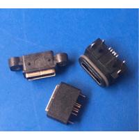 防水6-7级MICRO 5P母座防水USB前插后贴dip+SMT B/AB TYPE
