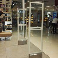 郑州超市服装店防盗报警系统水晶亚克力面板 河南省内免费上门安装