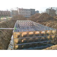 地埋水箱多少钱一立方 地埋消防水池 热镀锌箱泵一体化供水设备