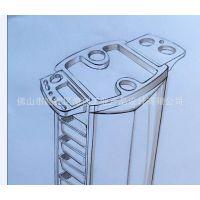 提供美容工具车外观设计、结构设计、工业设计