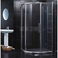 好的淋浴房诺乐制造,好材料看得见!