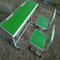 石河子 补习班课桌椅 板式中小学生课桌椅 现货可发