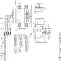 MICRO 3A母座5P沉板1.27贴片大电流5V-3A破板式-四脚SMT 卷边