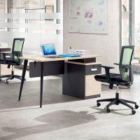 创意现代员工办公桌椅1.2米简约职员办公桌时尚单人位电脑桌批发