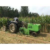 内蒙古玉米秸秆打捆机粉碎打捆一体机