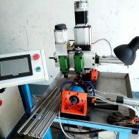 全自动钻床支轴打孔机器生产厂家 山东乾德新型自动打孔机