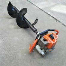 钻冰挖洞挖穴机 绿化施肥打孔机 大直径手提式挖坑机