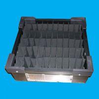 厂家供应优质聊城中空板周转箱,高周转使用率