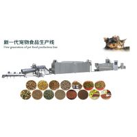 全膨化家畜饲料生产线狗粮猫粮生产设备,水产类饲料生产线美腾机械