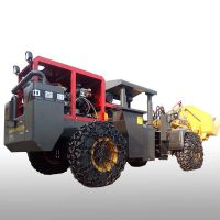 无烟型矿井装载机水过滤承德萤石矿铲车实心轮胎结实耐用