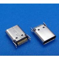 usb 3.1 type-c母座 24直插夹板0.8(L=10.5mm)