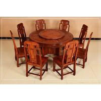 厂家直销古典中式家具红木成套1.2米餐桌椅名琢世家