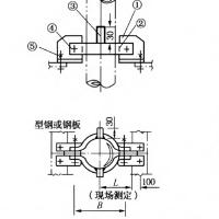 优质LT-3-3型卡箍型立管支托生产厂家沧州赤诚