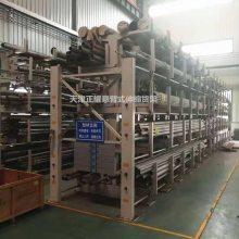 吉林板材仓库专用货架 板材平放架 抽屉式货架结构