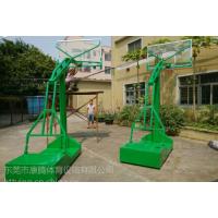 供应广东学校篮球架 运动健身器材球架 不锈钢球架子康腾体育批发价