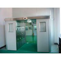 智能自动平移门风淋室 双开门自动平移门货淋室 禄米科技定制