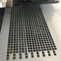 冲孔板现货供应白色货架冲孔板 金属过滤网 304不锈钢多孔板【至尚】圆孔