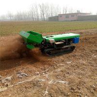 鲁辰茶园专用施肥开沟除草机 履带式松土机