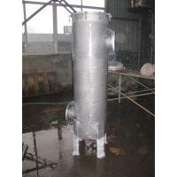 90T/H 316L材质 3芯40寸大流量折叠滤芯过滤器
