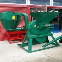 山东机械粉碎机厂家 玉米高粱麦类除尘粉碎机 400齿盘超微磨粉机