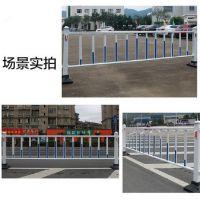 青鸟供应市政护栏,锌合金 道路隔离栏 市政公路马路围栏热镀锌铁马护栏