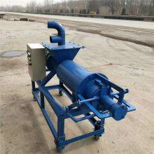 养殖场水冲粪处理机 粪便脱水挤压机 螺旋式干湿分离机
