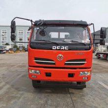 上黄牌的东风福瑞卡挖机拖车 可拉10吨的挖机平板拖车0.8L排量