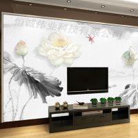 理光G5大型背景墙uv平板打印机 竹木纤维喷绘机 万能平板印刷机