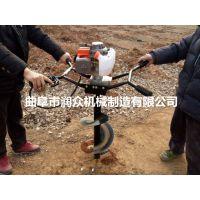 各种土质打孔机 大功率汽油挖坑机