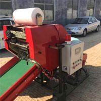 农场用秸秆青贮打捆机玉米秸秆青贮包膜机