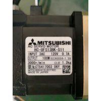 无锡快速三菱伺服马达维修HC-UFS13BK-S11磁铁爆裂轴承磨损编码器报警