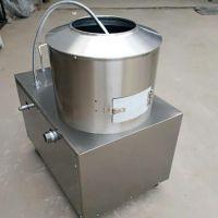 厂家直销 土豆去皮机 小型不锈钢脱皮机