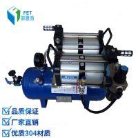 风炮空气增压器 气压增压设备 空压机增压泵