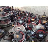 起重设备 直径600/700/800主动车轮组 双边锻钢轮 澳尔新直角角箱车轮组