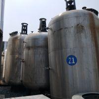 现货出售二手立式储罐 10立方不锈钢单层立式搅拌罐 化工储罐