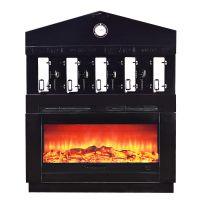 长方形烤鱼炉 + 壁炉底座 烤鱼炉: