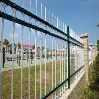 供应热镀锌小区围墙护栏 厂家批发锌钢铁艺围墙护栏